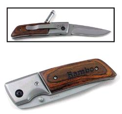 Engraved Wood Handle Hunting Knives Pocket Knives And Tools
