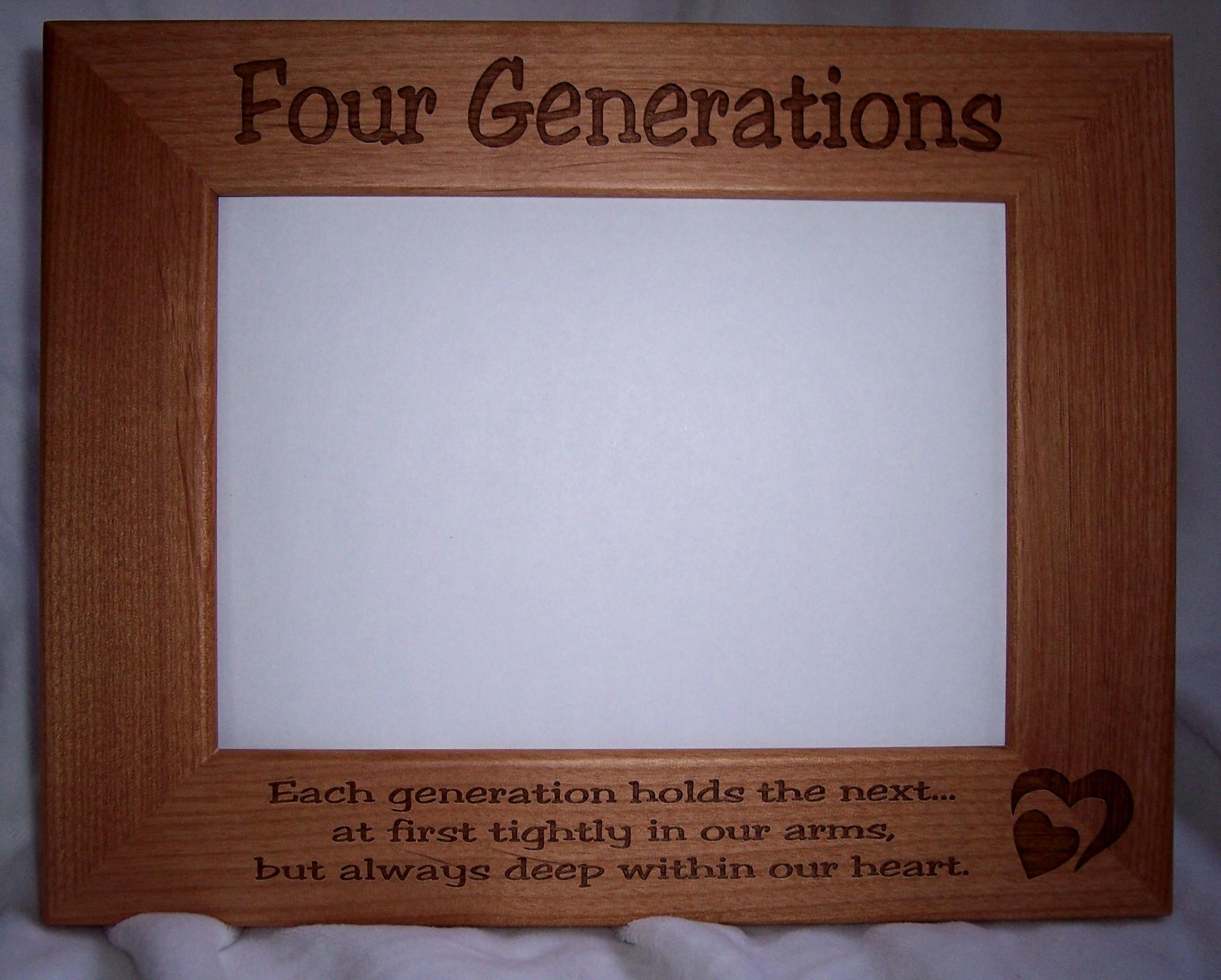 treasured haven farm engraved alder picture frames straight edge